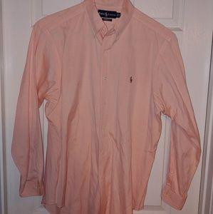 Ralph Lauren Polo Mens Oxford Shirt Sz 16 32-33